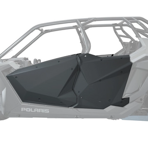 2021 Polaris RZR Pro XP 4- Performance Red- Factory Aluminum Doors Graphics Kit