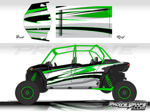 Proline Wraps Series Graphics - Deviant - Polaris RZR XP 4 1000