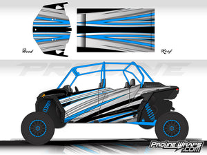 Proline Wraps Series Graphics - Galaxy - Polaris RZR XP 4 Turbo S
