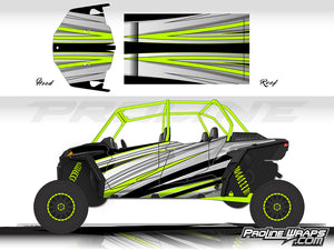 Proline Wraps Series Graphics - Galaxy - Polaris RZR XP 4 1000