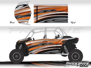 Proline Wraps Series Graphics - Native - Polaris RZR XP 4 Turbo S