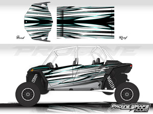 Proline Wraps Series Graphics - Blade - Polaris RZR XP 4 Turbo