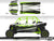 Proline Wraps Series Graphics - Blaze - Polaris RZR XP 4 1000
