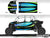 Proline Wraps Series Graphics - Cyclone - Polaris RZR XP 4 Turbo