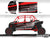 Proline Wraps Series Graphics - Electric - Polaris RZR XP 4 Turbo