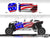 Proline Wraps Series Graphics - Old Glory - Polaris RZR XP 4 1000