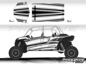 Proline Wraps Series Graphics - Throttle - Polaris RZR XP 4 1000