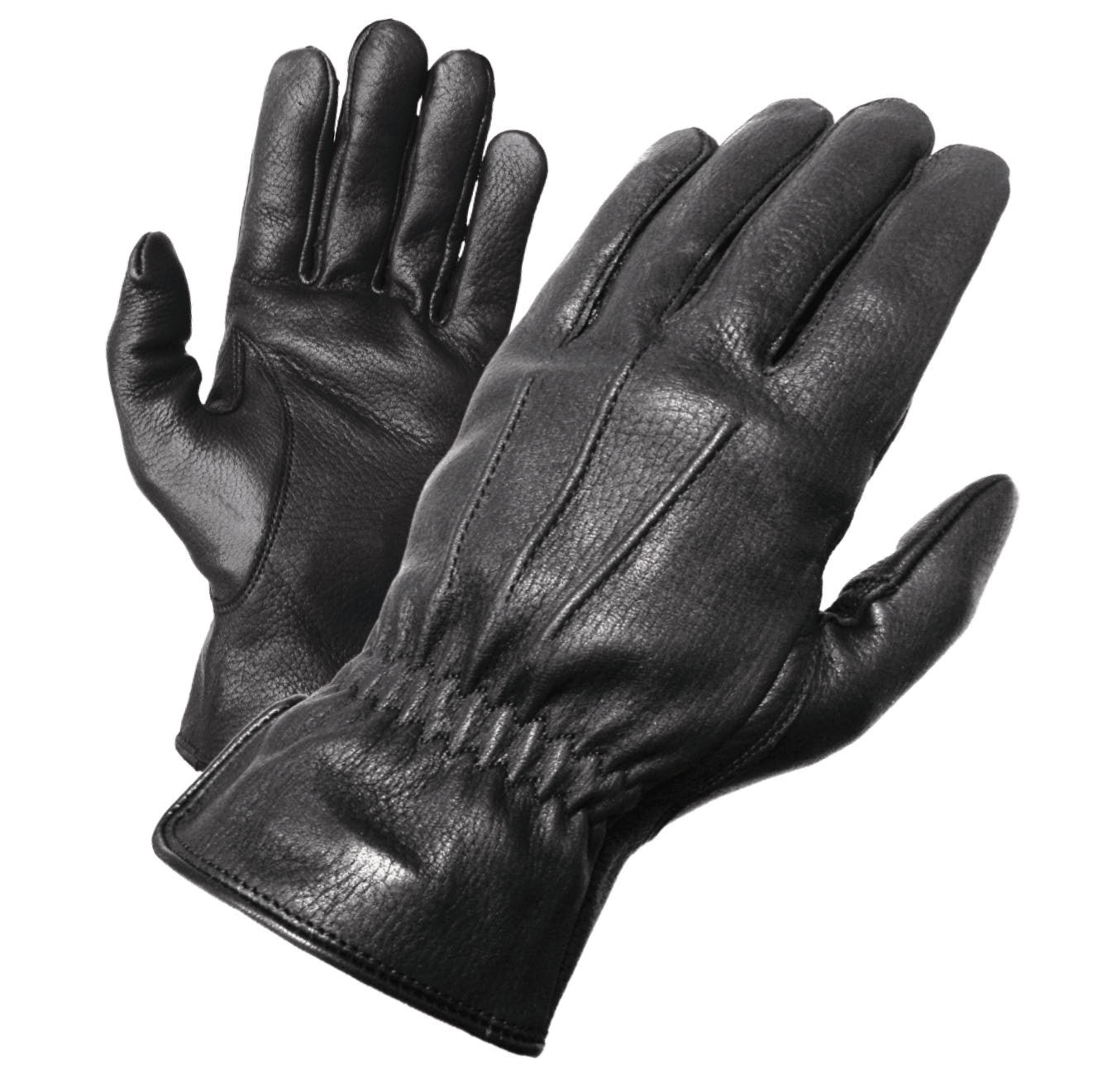 Womens leather biker gloves - Olympia Gloves 140 Deerskin I Gloves Product Image