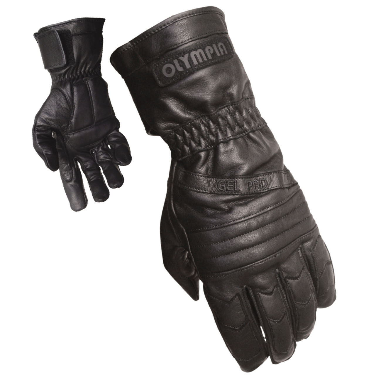 Buy leather gauntlet gloves - Olympia Gloves 410 Gel Sport Gloves Product Image