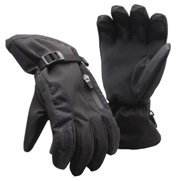 Black, Small Olympia Sports Mens Gore-Tex Rain or Shine Gloves 4300-Small