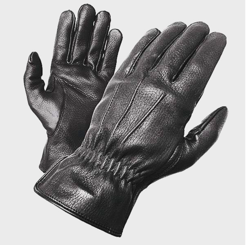 Olympia Sports Mens Air Force Fingerless Gel Gloves Black, Small