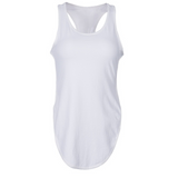 Yoga camisole fitness women's foreign trade new sideways split hips top
