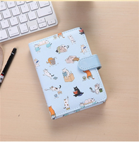 King Valley Ukiyoga large 32K creative cartoon magnetic buckle notebook notebook books new