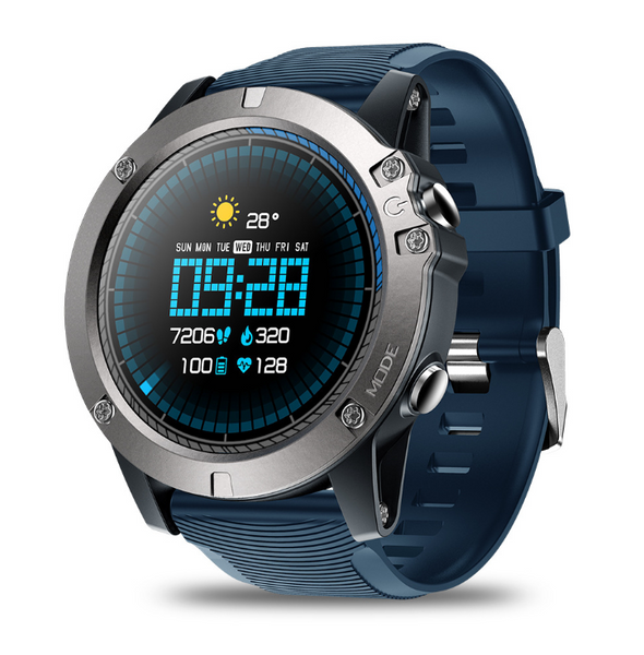 Smart watch touch screen Bluetooth heart rate detection long standby motion