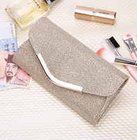 Korean version of the ladies hand wallet cosmetics storage in the long paragraph PU bag 2020 new fashion hipster