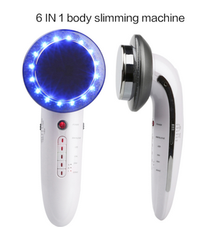 6 in 1 EMS Ultrasonic LED Cavitation Galvanic Ultrasound Thinning Body Infrared Therapy Lose Weight Fat Burn - Smoulder Products