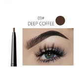 5 Colors Automatic Fine Eyebrow Pencil Brand Eye Brow Tint Cosmetics Eyebrow Tattoo Pen Waterproof Eye Brow Pencil Smudge-proof