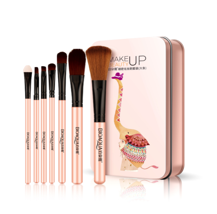 BIOAQUA Makeup Brushes Set Powder Foundation Eyeshadow Make Up Brush Soft Synthetic Hair Concealer kit Tool Cosmetics - Smoulder Products