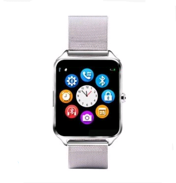 Smart watch metal steel with card call Bluetooth smart wear mesh belt watch - Smoulder Products
