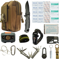 Travel outdoor equipment new first aid kit emergency survival kit tool car sos first aid kit set box