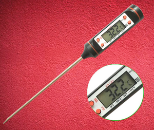 Kitchen oil thermometer kitchen barbecue baking temperature measurement electronic food thermometer - Smoulder Products