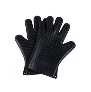 100% Food Grade Silicone Heat Resistant BBQ Glove Silicone Oven Mitts - Smoulder Products