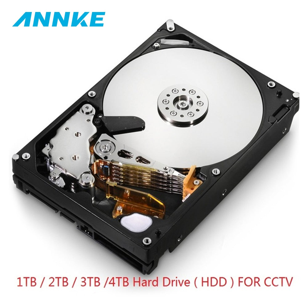 3.5 inch Hard Drive 1TB 2TB 3TB 4TB SATA CCTV Surveillance Hard Disk Internal HDD for CCTV Video recorder Security Camera System - Smoulder Products