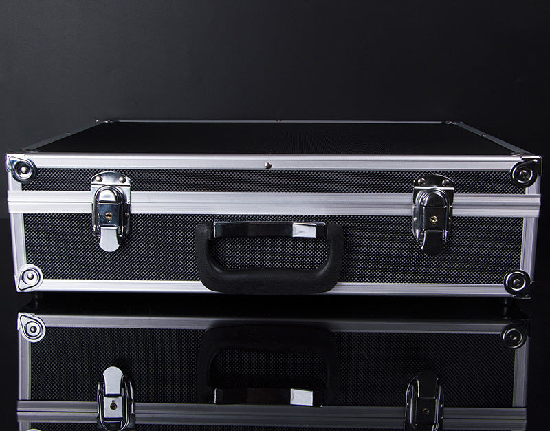 The new cosmetics Aluminum Alloy Meiya large Aluminum Alloy custom toolbox Aluminum Alloy storage box suitcase - Smoulder Products