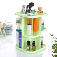 Make-up box plastic revolving skin care cosmetic cosmetics reception box bathroom desktop toilet factory direct sales