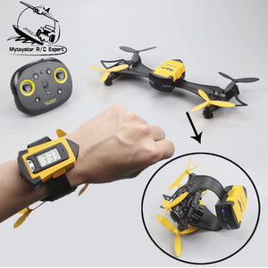 CX-70 Transformable Bat Drone Watch RC Quadcopter - Smoulder Products