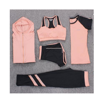 Sports professional fitness clothing suit loose running suit female fat mm large size yoga beginner
