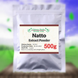 50-1000g,100% Organic Natto Extract Powder,nattokinase powder,Na Dou,High quality and High Value Nutrition supplement - Smoulder Products