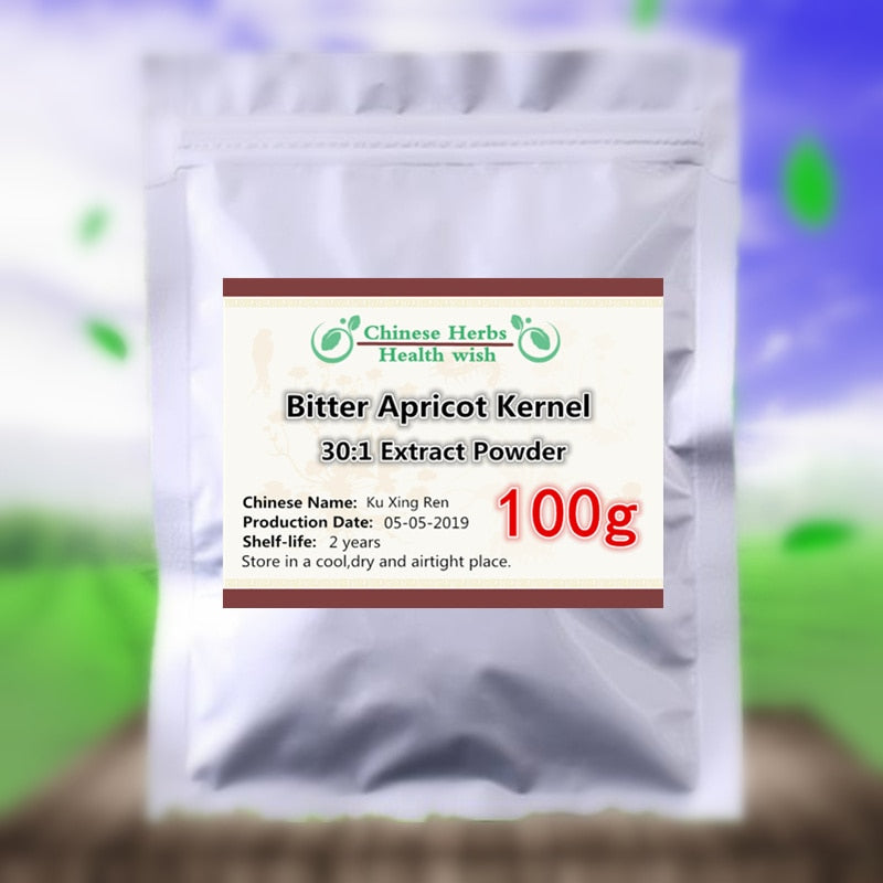 50-1000g,Anti Cancer Vitamin b17 Supplement,Bitter Apricot Kernel Extract Powder 20:1,Amygdalin Laetrile,Bitter Almond - Smoulder Products