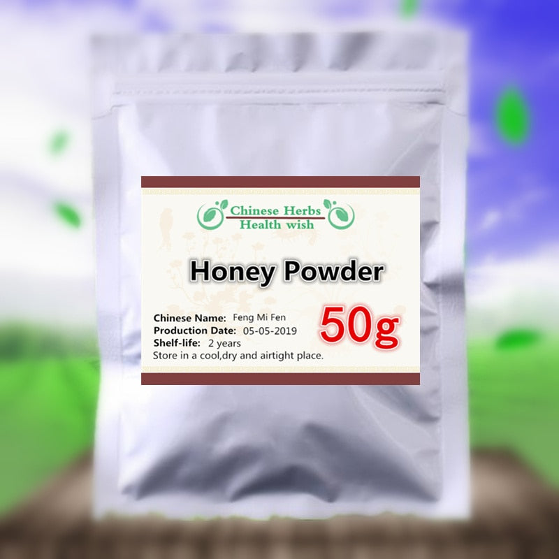 50-1000g,Fresh stock freeze dry honey powder,feng mi fen,High Value Drinks,Nutrition Supplement For Body,GMP Manufacture supply - Smoulder Products