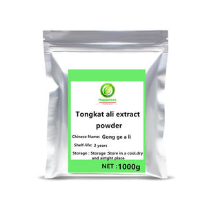 50-1000g High quality Tongkat Ali Extract Powder festival top supplement For Man Increase Sexual Desire Stamina free shipping. - Smoulder Products