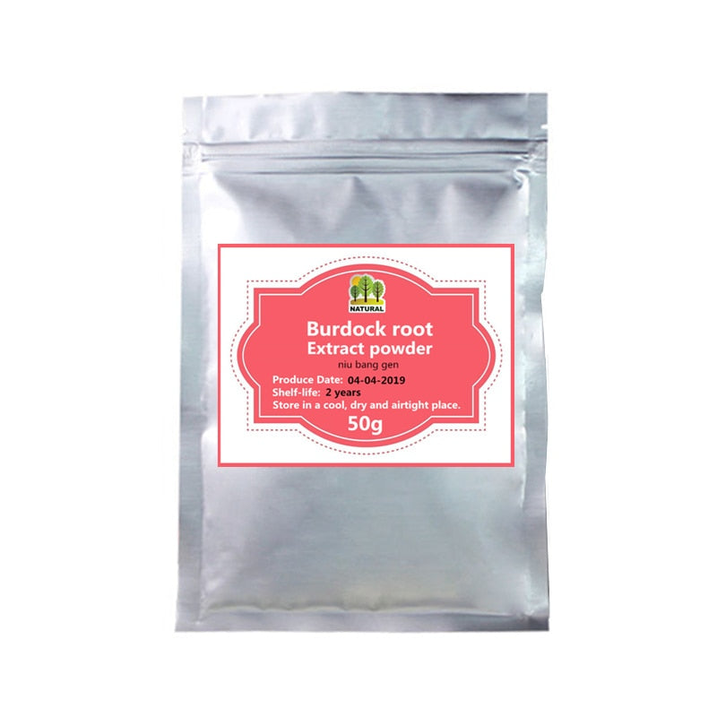 50-1000g,Niu Bang Gen GMP standard high quality pure Great Burdock Root Extract powder,Improve digestion,Nutritional supplement - Smoulder Products