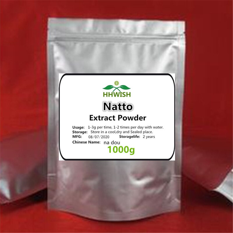 50g-1000g 100% Natural High quality Natto Extract ,na dou, Nutritional Supplement with free shipping - Smoulder Products
