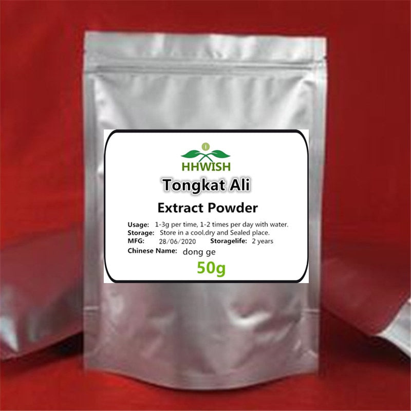 50g-1000g Men's Natural Supplement,Tongkat ali root extract 200:1 powder,Eurycoma Longifolia Jack,Eurycoma longifolia,dong ge - Smoulder Products