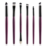 6PCS eye makeup cosmetics 2020 Brushes Set for Eyeshadow eyebrow lip eyeliner brush beauty make up tools