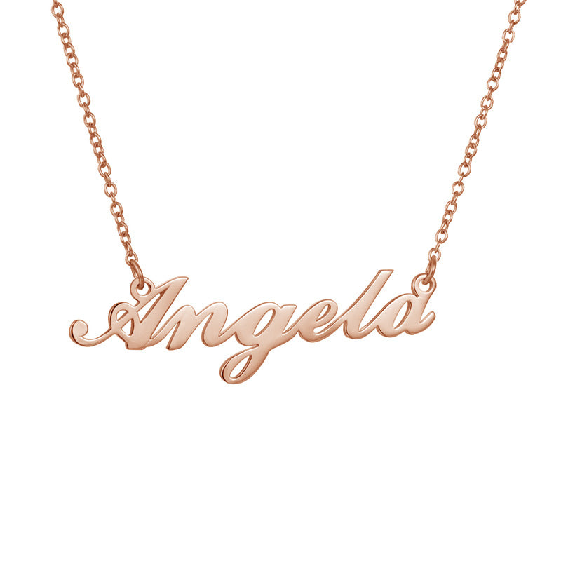 Custom  Name Necklace Personalized Necklace - Smoulder Products
