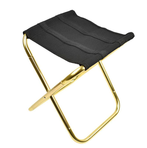 Outdoor folding chair 7075 aluminum alloy fishing chair barbecue stool folding stool portable train bench camping small Mazar - Smoulder Products