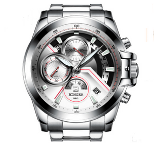 Authentic watch men automatic waterproof Mens Fashion luminous sports lovers - Smoulder Products
