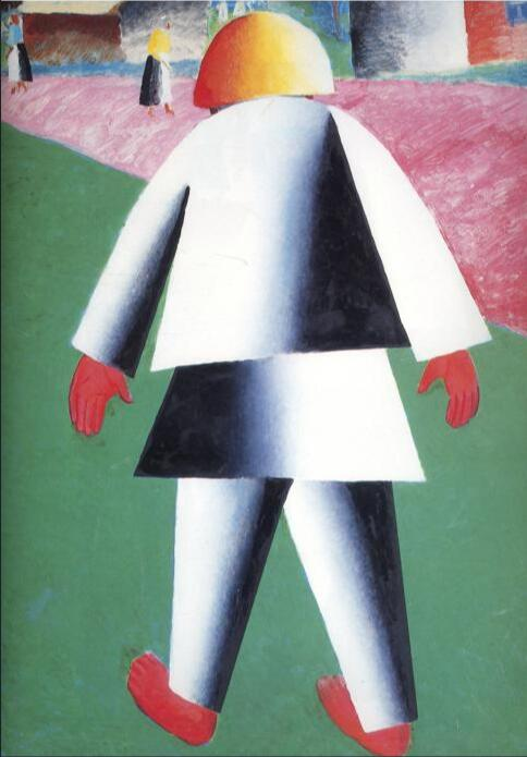 High quality Oil painting Canvas Reproductions Boy (1932) By Kazimir Malevich hand painted - Smoulder Products