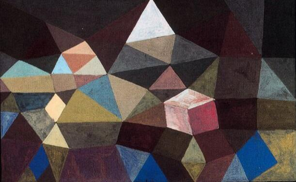 High quality Oil painting Canvas Reproductions Crystalline Landscape (1929) by Paul Klee  Painting hand painted - Smoulder Products