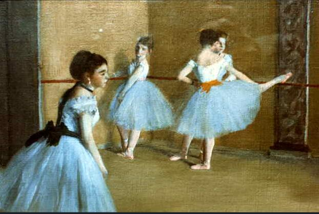 High quality Oil painting Canvas Reproductions Dance Opera (1872) By Edgar Degas hand painted - Smoulder Products