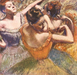 High quality Oil painting Canvas Reproductions Dancers (1899)  By Edgar Degas hand painted - Smoulder Products