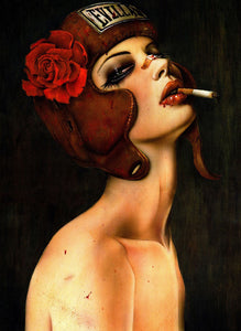 High quality Oil painting Canvas Reproductions Evillast by Brian M.Viveros Painting hand painted - Smoulder Products