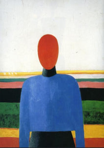 High quality Oil painting Canvas Reproductions Female Torso (1933) By Kazimir Malevich hand painted - Smoulder Products