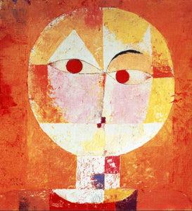 High quality Oil painting Canvas Reproductions Senecio (1922) by Paul Klee Painting hand painted - Smoulder Products