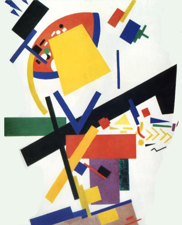 High quality Oil painting Canvas Reproductions Suprematism (1915)02. By Kazimir Malevich hand painted - Smoulder Products